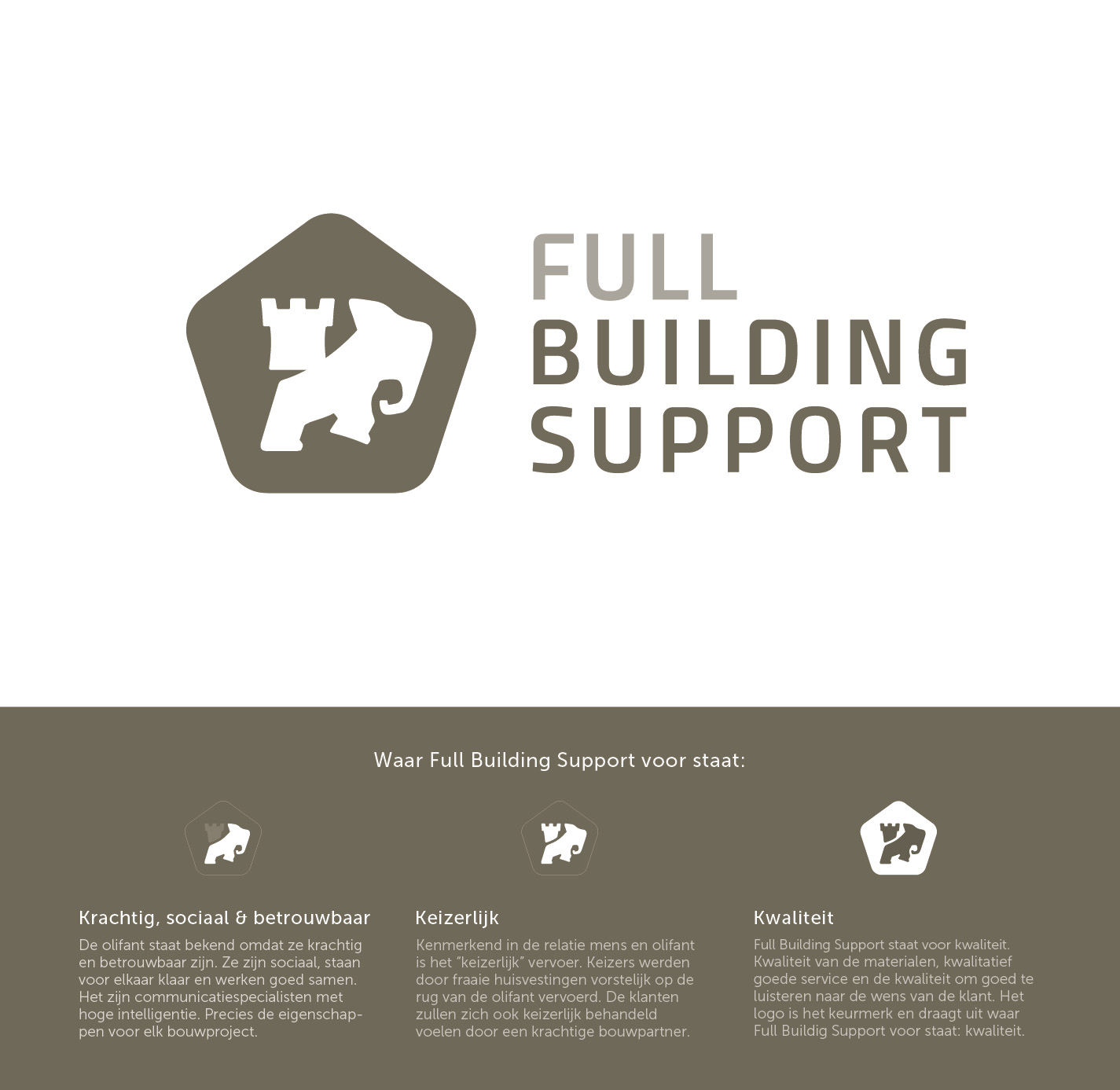 Logo ontwerp Utrecht - Full Building Support