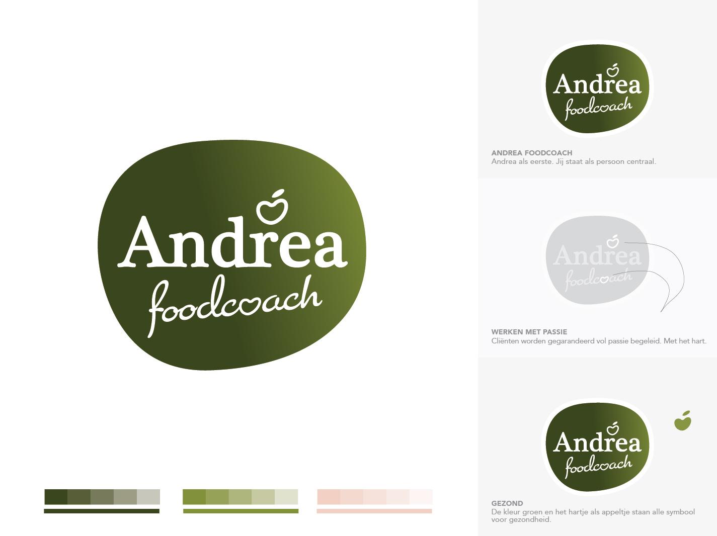 Logo ontwerp Utrecht - Andrea Foodcoach