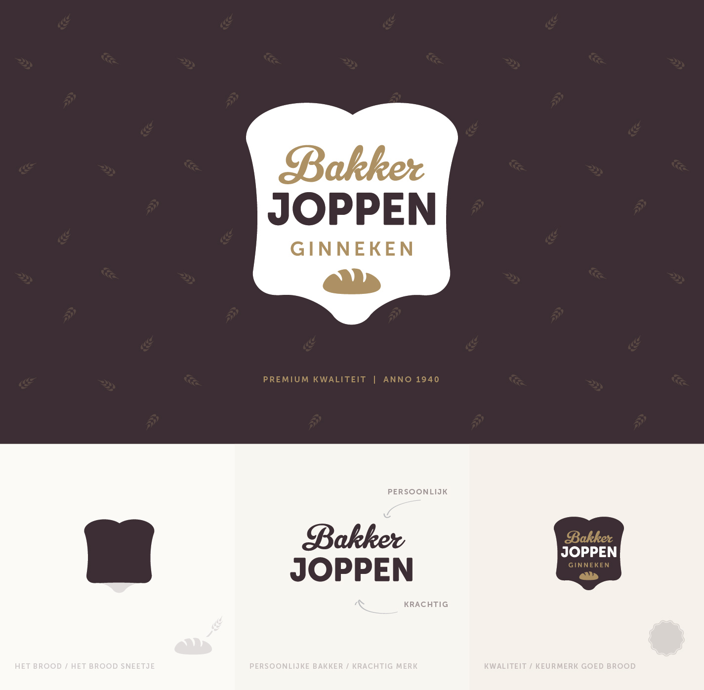 Logo ontwerp Utrecht - Bakker Joppen