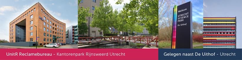 Reclamebureau Utrecht - Rijnsweerd - De Uithof