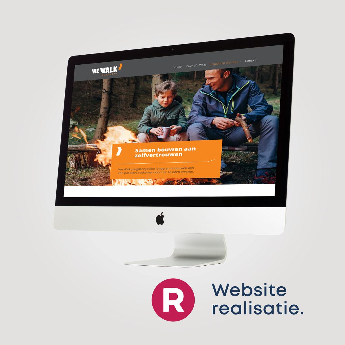 We Walk website realisatie reclamebureau Utrecht Breda