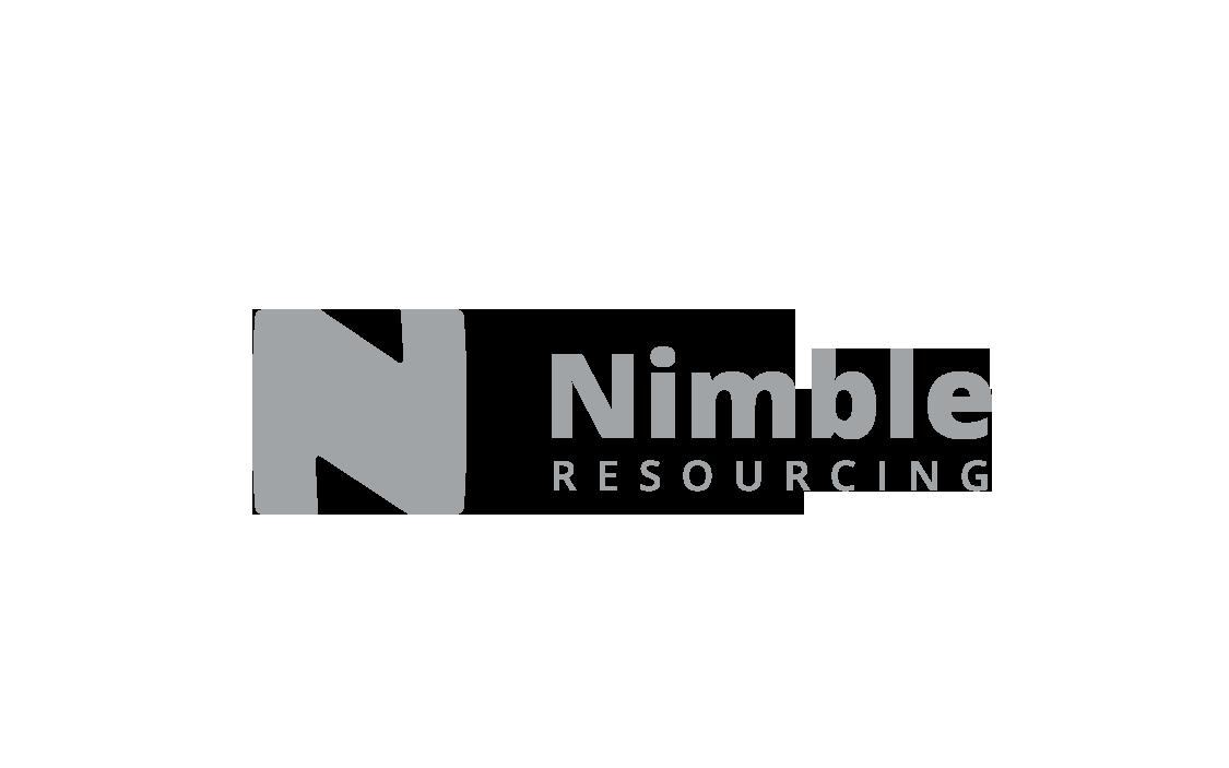 Nimble Resourcing Logo ontwerp Utrecht