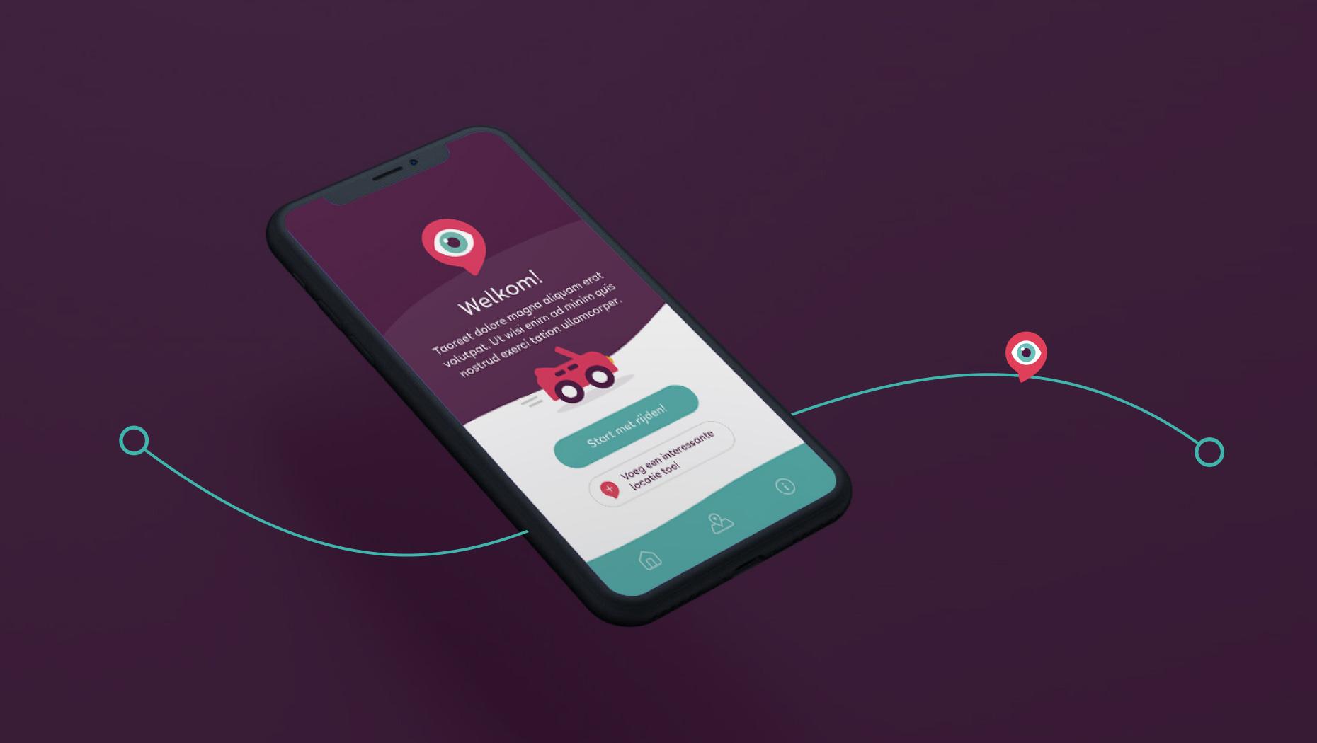 UnitR Reclamebureau Utrecht App Ontwerp MsNosy