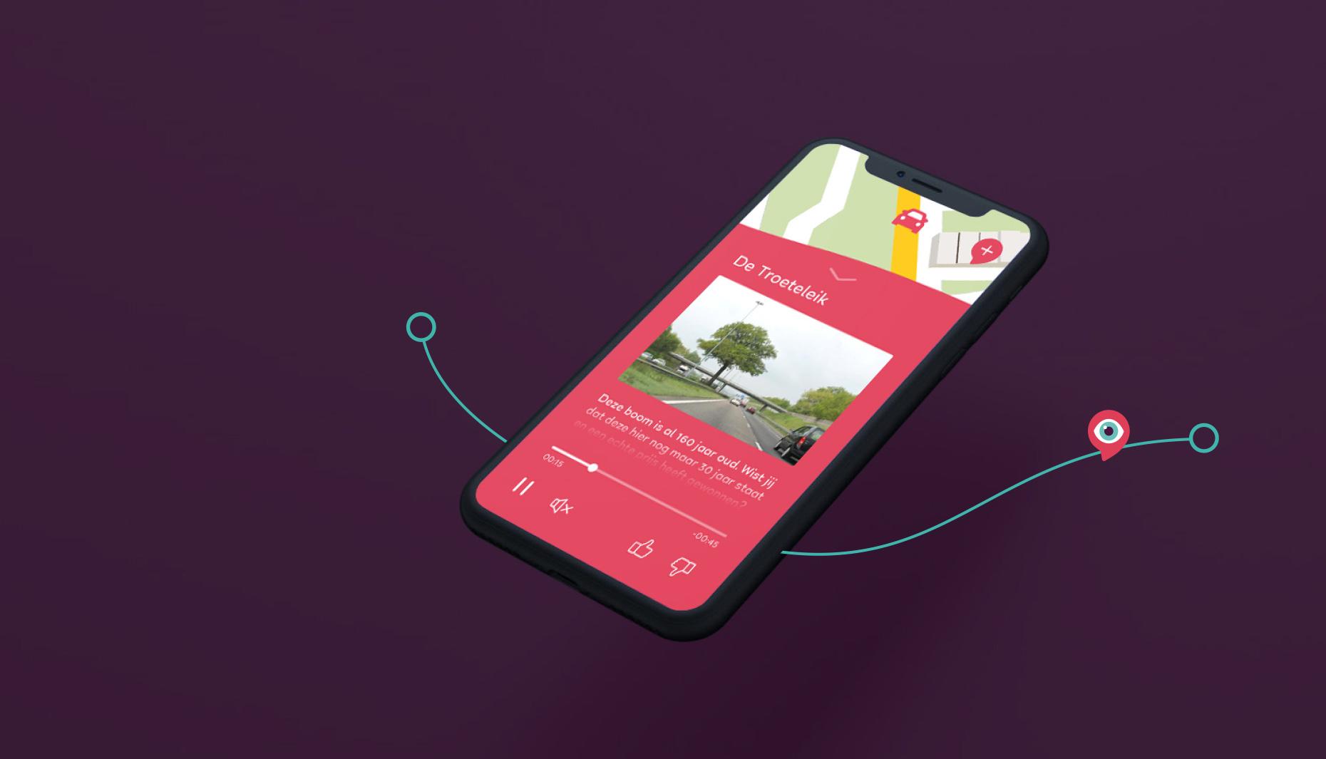 UnitR Reclamebureau Utrecht App Vormgeving MsNosy grafische vormgeving utrecht